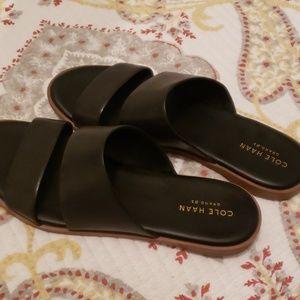 Cole Haan slide on sandals size 6.5